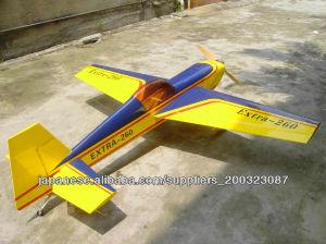 模型飛行機 EXTRA-260 50CC 翼長:85in/2160mm; 翼面積:86sq.dm;      全