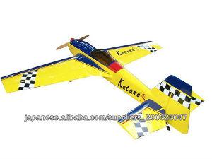 模型飛行機  katana-100cc 翼長:106.1in/2695mm;  翼面積:136sq.dm;  身