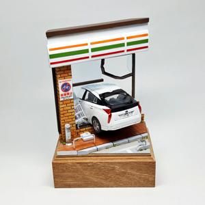 7203 - トヨタ自動車(株) DQNプリウスのジオラマ