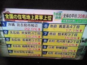 8892 - (株)日本エスコン 北海道のNHKニュースで、北広島市の地価の話題がありました。