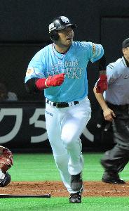 2015年3月18日(水) ソフトバンク vs ロッテ 松中かな?