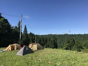 ★♂★トピ友つくろ~よ★♀★ おはよう(╹◡╹) 土、日曜と新潟の十日町のキャンプ場でキャンプしてきたよ‼️ 土曜は雨だったけど日