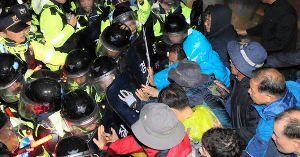 <丶`д´>韓国人は世界一優秀な民族 <丶`д´> 沖縄が静かだと思ったら、みんな今はTHAAD配備デモで韓国へ移