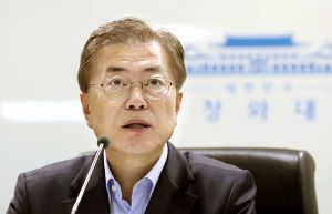 <丶`д´>韓国人は世界一優秀な民族 文在寅大統領 「日本は勇気を持ってほしい。謝罪と賠償、そして通貨スワップを再開する勇気だ。」  &l