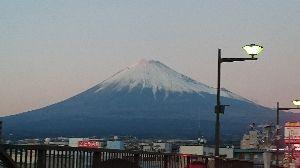 友達募集 ちゅう事で昨日の富士山(笑)