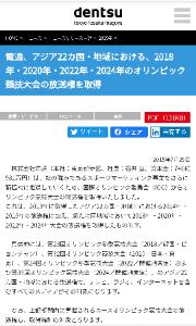 4324 - (株)電通グループ ほらよ