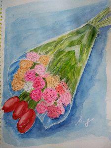 絵画の趣味 stsさん ご挨拶がわりに、最近の拙い絵をアップします。私は近所の公民館で絵を学んでいます。教室なの
