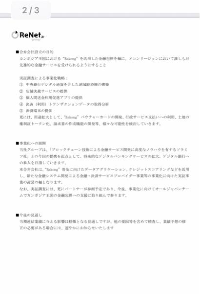 3556 - リネットジャパングループ(株) 新たなパートナー  ○ニーきちゃうの?