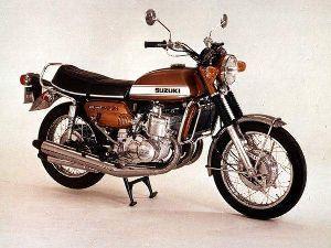 息抜きしませんか? ひろさん、こんにちは🎵 若い頃乗っていた、スズキGT750です 水冷2サイクルでした これは速かった