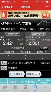 7744 - ノーリツ鋼機(株) PTS