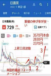 4997 - 日本農薬(株) 長期保有銘柄 化けるでしょう