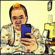 ホストクラブ☆田園☆ 自然仮装かぼちゃ~(  ^∀^)   ハッピーハロウィン。  眠たそうな目をしてからに