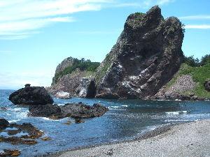 たま~に一緒に走りませんか?(青森県) 6/11に「ウニ丼」目当てで佐井に行ってきました。 時化で漁ができなかったみたいで食べれませんでした