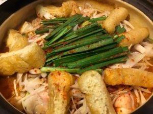 なごみの郷 こんばんはー  今夜はお鍋~~赤から鍋 ピリ辛で美味しいよ😋🍺  お互いに1人もんのお二人さ~ん 一