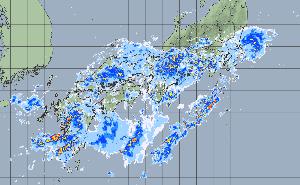 7751 - キヤノン(株) ワシの中部も、断続的に豪雨中、、、 これから東へ移る、もよお!!