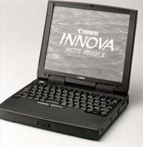 7751 - キヤノン(株) CANONのパソコンはイノーバ!  これ!!