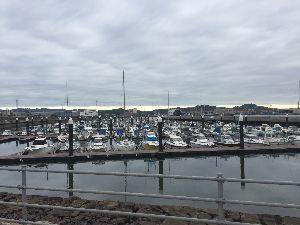 「挨拶だけでも…Ⅱ」 おはようございます。  今朝は早起き移動で福山ボートパークです。 早起きすると今頃眠い💤  まもなく