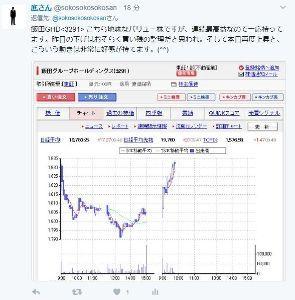 3291 - 飯田グループホールディングス(株) 昨日今日と非常に良い値動きです。(^^)