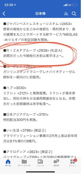 2928 - RIZAPグループ(株) 信じたい(๑╹ω╹๑ ) 上げてーーーー⭐︎