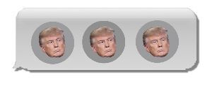 【After Deadline】 About Trump and ellipses...  President Donald Trum