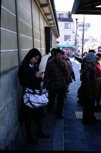 リバーサルで街歩き2 【やっぱり京都です】 なんとなく年末な感じですね。 いつも突然、年賀状の準備とかボーナスとかで意識し