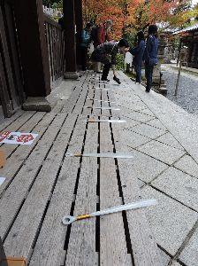 昔、昔、旅行をしました。そんな思い出ですよ。 これは、永観堂(禅林寺)かな。   「 みな人を渡さんと思う心こそ 極楽にいくしるべなりけり 」 千