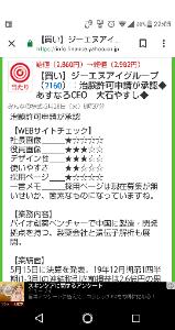 2160 - (株)ジーエヌアイグループ ヒマ だから 社長画像 を イケメン に するのは どうかしら