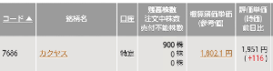 9263 - (株)ビジョナリーホールディングス ここで何か買って憂さ晴らしします❗