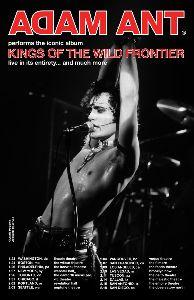 『アダムの王国』 アダム、来年初めにノースアメリカの16カ所でのツアーを予定 相変わらず精力的だ~~!そのポスターがカ