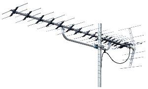 6749 - マスプロ電工(株) アンテナ交換    実家の古いアンテナをLS206TMH(¥4,980)に交換。  アンテナ