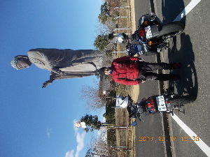 ライコ番外編ツーリング 11月24日 のんさん、ひらりさんと伊豆ツーリングに行って来ました。 狭山SA8:30 小田原有料道