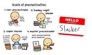 漢字(日本語) Hell. I'm a total procrastinator.(lol)