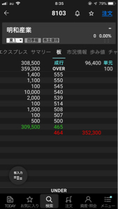 8103 - 明和産業(株) 貼り付いてますが見せ板ですか?