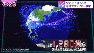 3035 - ケイティケイ(株) 「サイバーセキュリティ問題」   5月、世界を衝撃的なニュースが、、、  イギリス各地の病院で、突如
