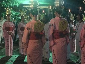 ☆ひとりごと~!☆ 山鹿灯籠祭に行ってきました(^_^)