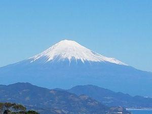 40代 友達の輪 富士山   今日はいい天気でしたね