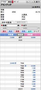 3565 - アセンテック(株) S高           気配。