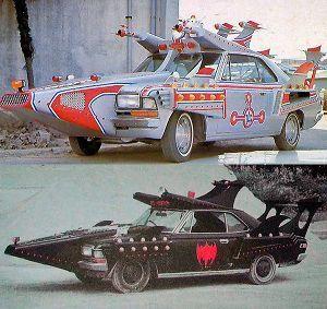 ■特撮界 悪のヒーロー■ >ニセモノじゃないけど。。。    防衛隊で使用した車両の、民間への払い下げ(??)はあるんですね。