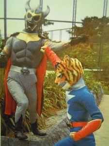 ■特撮界 悪のヒーロー■ 鉄人タイガーセブンより、黒仮面。