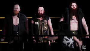 4334 - (株)ユークス ユークスtweet♪ The #WWE2K18 SAnitY entrance video is l