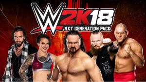 4334 - (株)ユークス WWE tweet 。WWE2K18 RT。 The @WWENXT Generation Pack