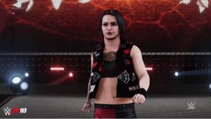 4334 - (株)ユークス WWE2K18 tweet 。 .@RubyRiotWWE debuted on #SDLive t