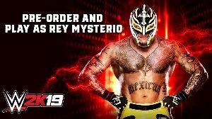 4334 - (株)ユークス  #WWE2K19