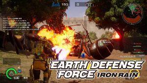 4334 - (株)ユークス 『EARTH DEFENSE FORCE: IRON RAIN』の資源争奪をモチーフにしたオンライン