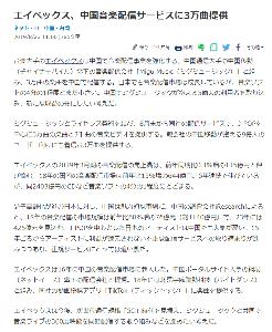 4334 - (株)ユークス 日経新聞3時間に配信