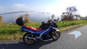千葉県発!バイク遊びしませんか? 霞ヶ浦を一周して来ました~✌️ 途中、温泉入って足を伸ばせたし、ザルそば食って1日気ままに過ごしまし