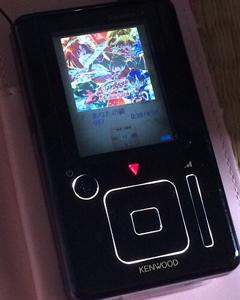 6632 - (株)JVCケンウッド ケンウッドの最強DAP HD60g HDDプレイヤー